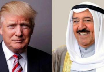 ترمب يمنح أمير الكويت وسام الاستحقاق العسكري