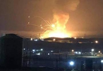 """""""توضيح رسمي"""":لانفجار مخزن الذخيرة بمدينة الزرقاء الأردنية"""