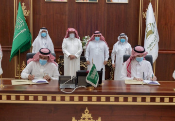 جامعة الجوف توقع مذكرة تفاهم مع جامعة المجمعة تهدف لتبادل الخبرات فيما يحقق تطلعات القيادة