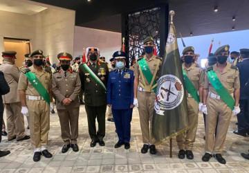 رئيس هيئة الأركان العامة يحضر احتفالات الذكرى المئوية الأولى لتأسيس المملكة الأردنية الهاشمية ويلتقي برئيس هيئة الأركان المشتركة للقوات الأردنية