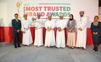 العماني يحصد جائزة العلامة التجارية الأكثر ثقة عن فئة الطيران لعام 2019