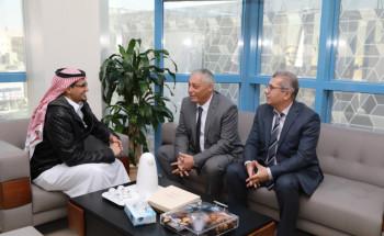 """""""سعود الطبية"""" تستقبل مستشاري الرئيس التونسي"""
