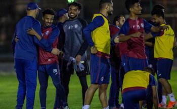 """""""العدالة """"يختتم تدريباته في ملعبه ويغادر إلى العاصمة الرياض"""