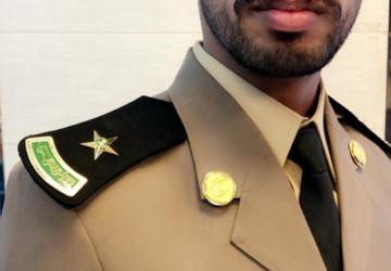"""""""الجريشي"""" يتخرج برتبة ملازم"""