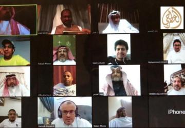 """نادي الإعلاميين السعوديين ينظم لقاء معايدة لمنسوبيه """"عن بعد"""""""