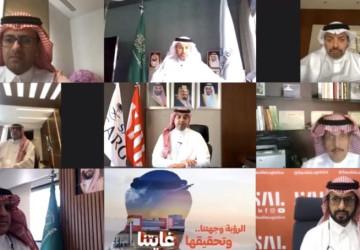 """وزير النقل يرعى انطلاق العمليات التشغيلية في مرافق شركة """"سال"""" للشحن بمطار الملك خالد الدولي"""