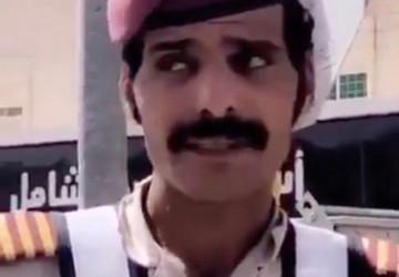 أمير الجوف يكرّم حارس الأمن الذي اشتكى من إزالة غرفته التي كان يستظل بها من الشمس أثناء أدائه عمله