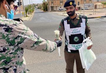 مديرية سجون منطقه الجوف تعايد أبطال الميدان