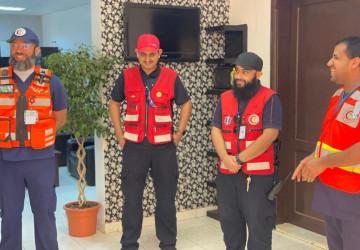 مدير عام الهلال الأحمر بالجوف ينقل معايدة رئيس الهيئة لمنسوبيها العاملين بالميدان