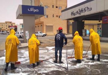"""""""أمانة الجوف"""" تنفذ 1188 جولة رقابية وتُطهر 1300 موقع في أيام العيد"""