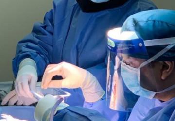 إنقاذ مريض يعاني من كسر بالجمجمة وخروج سائل المخ في مستشفى الملك عبدالعزيز التخصصي بالجوف