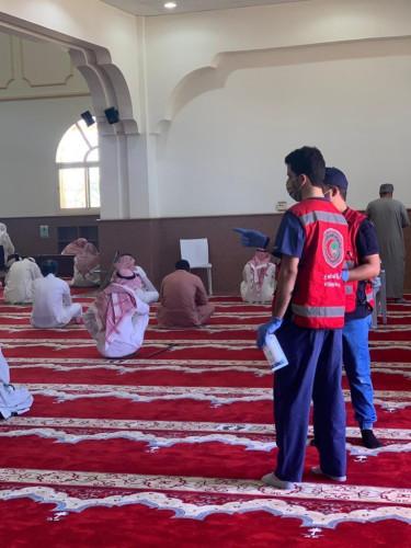 أبرز فعاليات الهلال الأحمر بمنطقة الجوف خلال الأسبوع الماضي