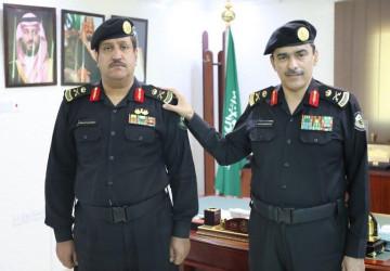 مدير الإدارة العامة لدوريات الأمن يقلد العميد الدويش رتبته الجديدة