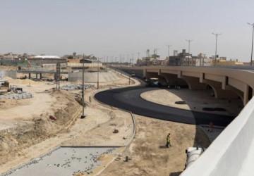 """إغلاق مؤقت لتحويل مسار طريق الملك عبد الله """"الجزء الشمالي"""" بالأحساء"""