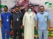 مركز صحي الحرة الغربية بالمدينة يحتفل باليوم الوطني 90
