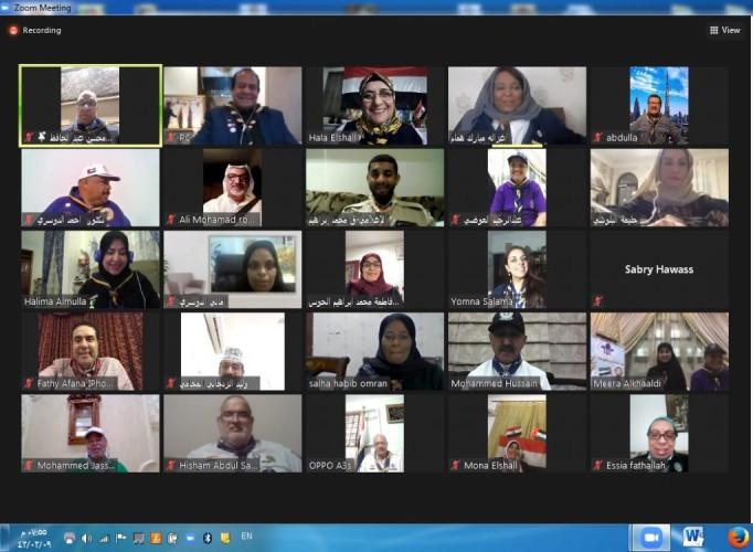 """رواد ورائدات كشافة الإمارات يدشنون مشروع """"معاً نلتقي لنرتقي"""" وبرنامج المواهب"""
