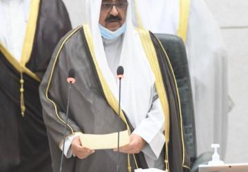 سمو ولي العهد بدولة الكويت يؤدي اليمين الدستورية أمام أمير الكويت ومجلس الأمة