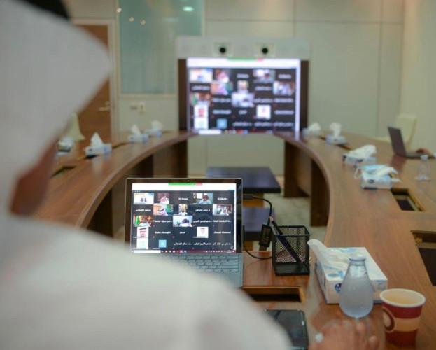 لجنة عمداء شؤون الطلاب تعقد اجتماعها الـ 17 افتراضياً