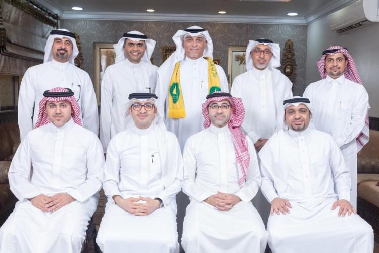 الربعان يعتمد عدد من المناصب الإدارية والهمل نائباً للرئيس و آل عباس أميناً للمجلس