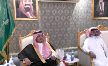 سمو محافظ حفر الباطن يتفقد مراكز السلمانية والقلت والنظيم
