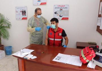 هلال الجوف يدشن حملة التطعيم ضد الإنفلونزا الموسمية