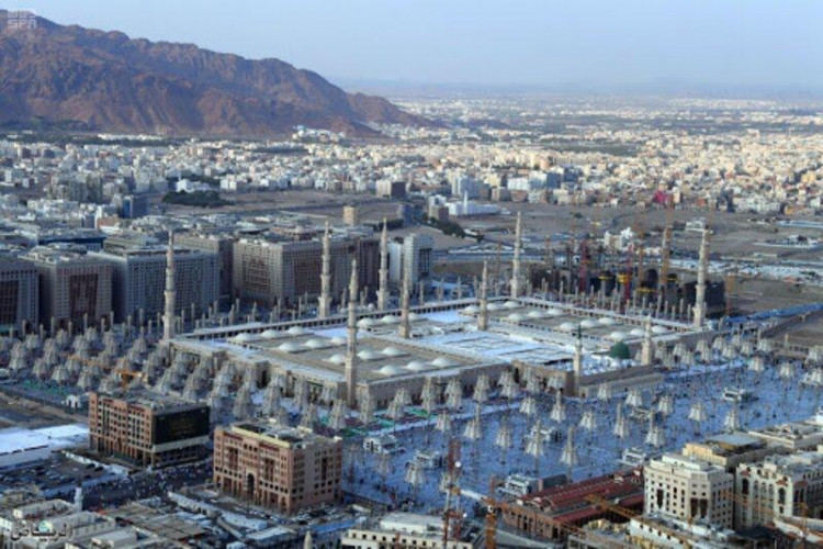 تعيين(99)عسكرية في القوة الخاصة لأمن المسجد النبوي