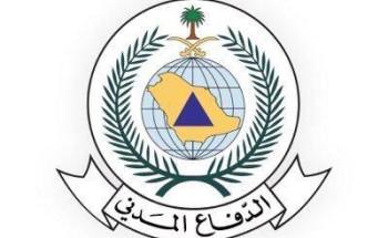 الدفاع المدني يهيب بالجميع توخي الحذر لاحتمالية هطول أمطار رعدية على بعض مناطق المملكة