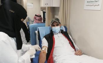 أكثر من 900 مستفيد من حملة التبرع بالدم في أسبوعها الأول