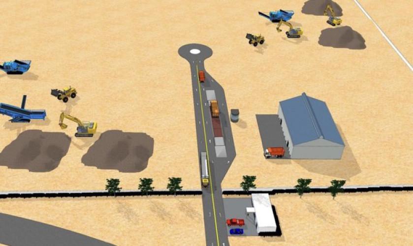 أمانة الشرقية توقع عقد استثماري لبناء مصنع لتدوير النفايات الصلبة للإنشاءات بنظام BOT