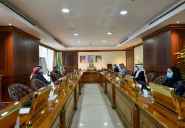معالي وزير البيئة والمياه والزراعة يرأس اجتماع مجلس المؤسسة العامة للري