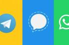 """تزايد الإقبال على تطبيق """"تليغرام"""" و """"سيغنال"""" على حساب """"واتساب"""""""