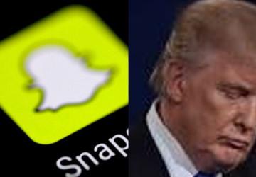 """""""سناب شات"""" على خطى """"تويتر"""" يغلق حساب ترامب بشكل نهائي"""