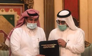ليلة علمية مع معالي الدكتور العوهلي في ضيافة الدكتور العبد القادر