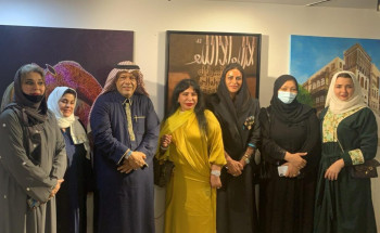 فنون المها ورؤى العربية يطلقان(3)معارض فنية