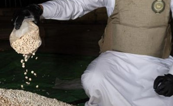مكافحة المخدرات: القبض على مقيمَين ونازح لمحاولتهم تهريب(2,700,000)قرص إمفيتامين مخدر