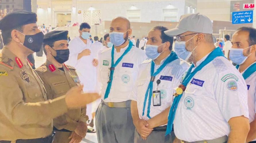 مُدير الأمن العام يشيد بدور قادة كشافة تعليم مكة المكرمة الريادي في خدمة المعتمرين