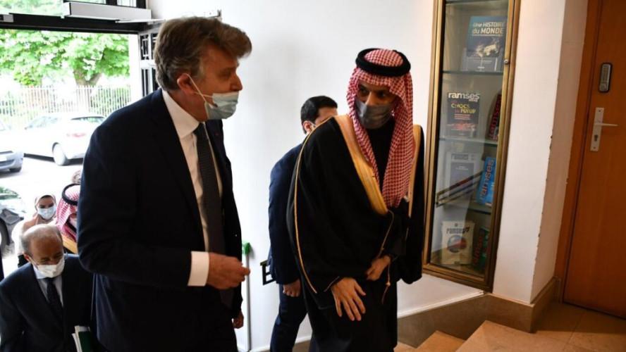 وزير الخارجية يلتقي عدداً من المسؤولين في المعهد الفرنسي للعلاقات الدولية