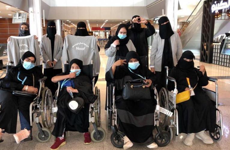 نادي ذوي الإعاقة بتبوك يشارك في بطولة المملكة المفتوحة لألعاب القوى بنات