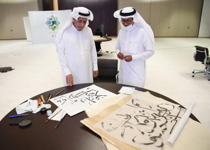مشاركون في ورشة حوار الخط العربي: الفنون تعزّز القيم الإيجابية وتساهم في خلق جوّ اجتماعيّ إيجابيّ يسوده الحوار والتسامح والتعايش والترابط والتآلف