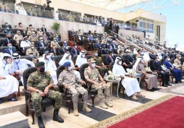 رئيس هيئة الأركان العامة يحضر افتتاح قاعدة 3 يوليو البحرية بجمهورية مصر العربية