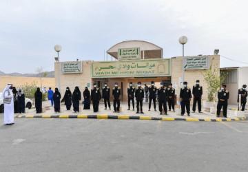بالصور.. ميقات وادي محرم يستقبل وفود الحجاج وسط الخدمات المتكاملة التي قدمتها الشؤون الإسلامية