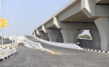 أمانة الشرقية: ٩٨٪ نسبة الإنجاز في مشروع استكمال جسر امتداد طريق الأمير نايف مع طريق الأمير متعب بالدمام