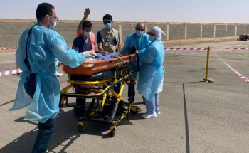 """""""صحة الرياض"""" تنفذ فرضية حريق في مستشفى ساجر العام"""