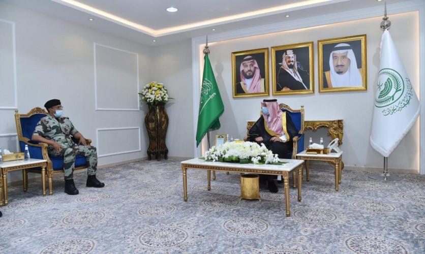 أمير منطقة نجران يستقبل قائد قوات الطوارئ الخاصة