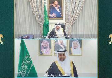 أمام خادم الحرمين الشريفين.. وزير الصحة يؤدي القسم